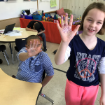 "Students ""See"" Germs with Glitter"